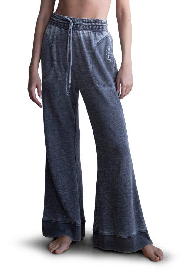 Women's Free People Cozy Cool Lounge Pants, Size X-Small - Black