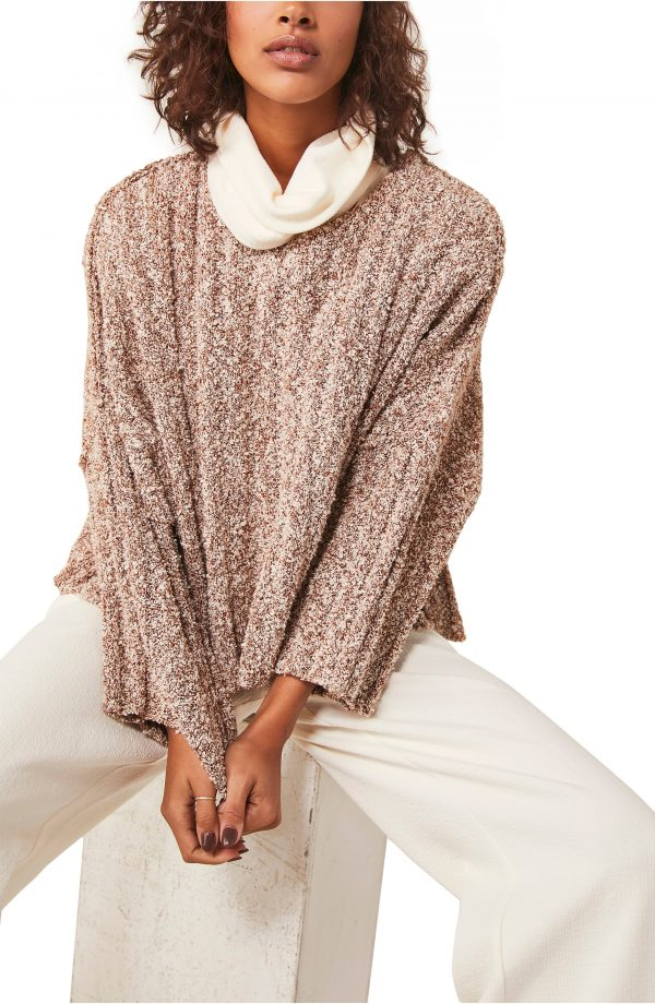 Women's Free People Good Day Pullover, Size X-Small - Orange