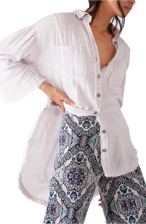 Women's Free People The Venice Blouse, Size X-Small - Ivory