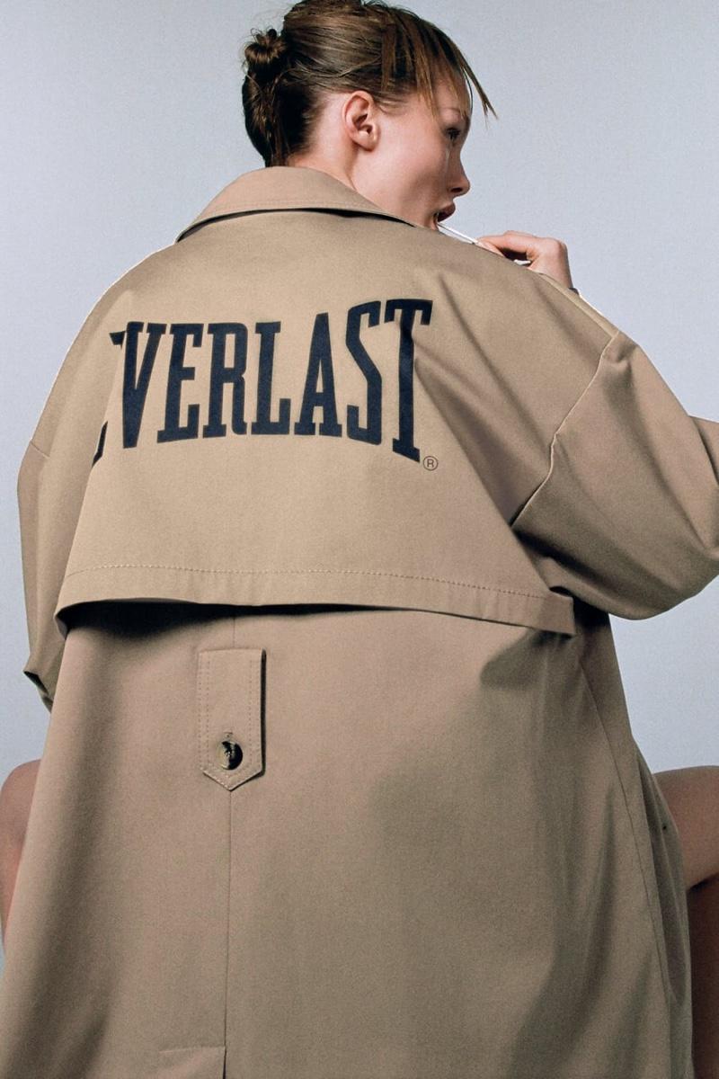 Zara x Everlast Trench Coat.