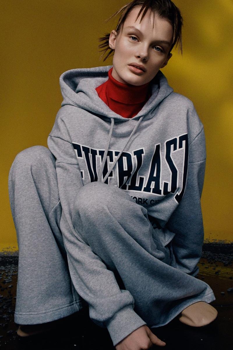The Zara x Everlast collaboration includes activewear essentials.
