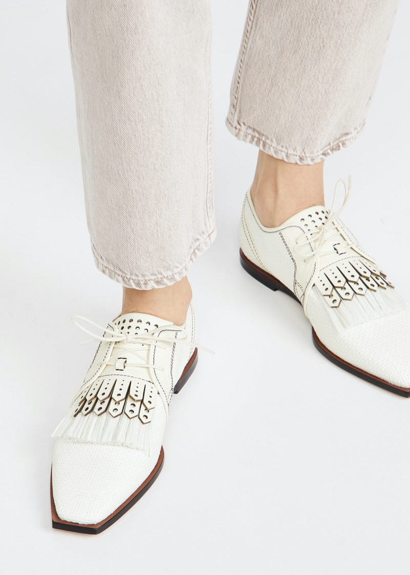 Zimmermann Lace Up Golf Shoes $670