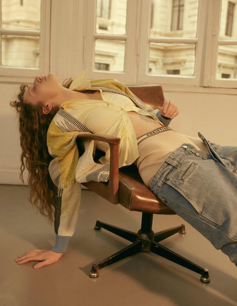 Adele Udina Is A Sleeping Beauty for L'Officiel Turkey