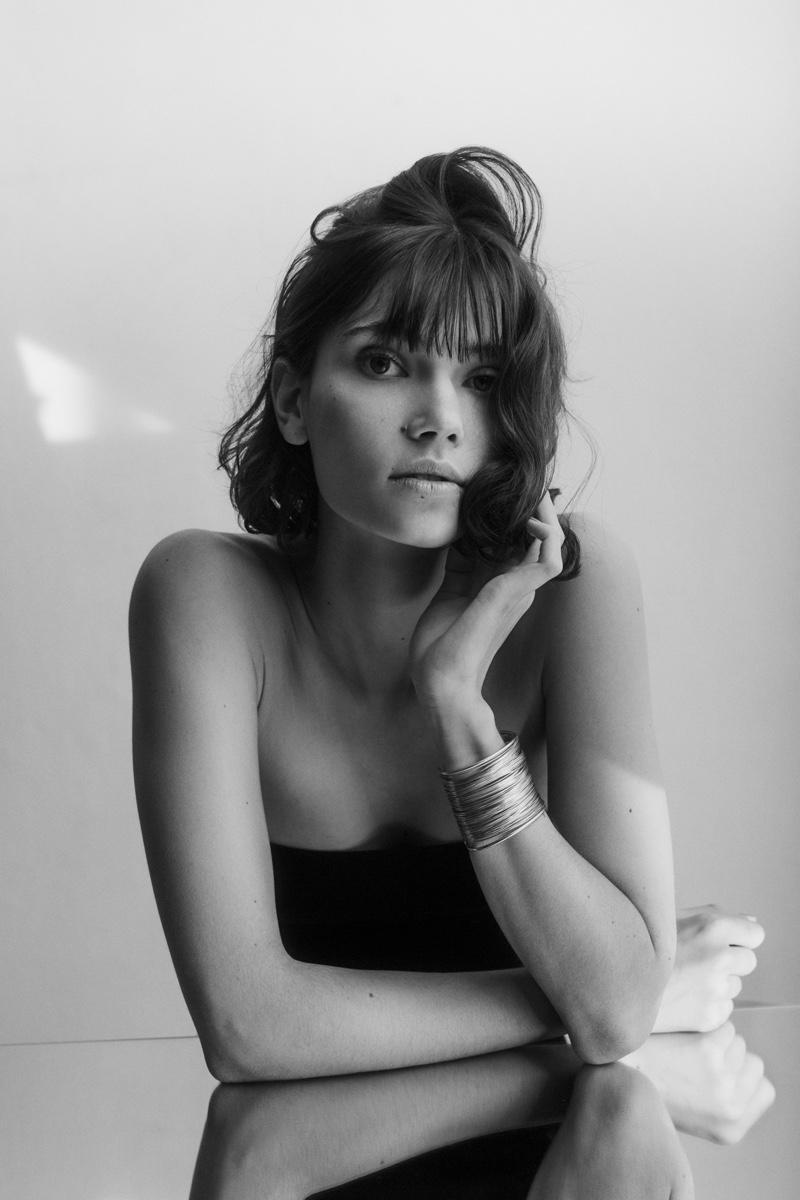 Annabella Burghardt Takes the Spotlight for Marie Claire Ukraine