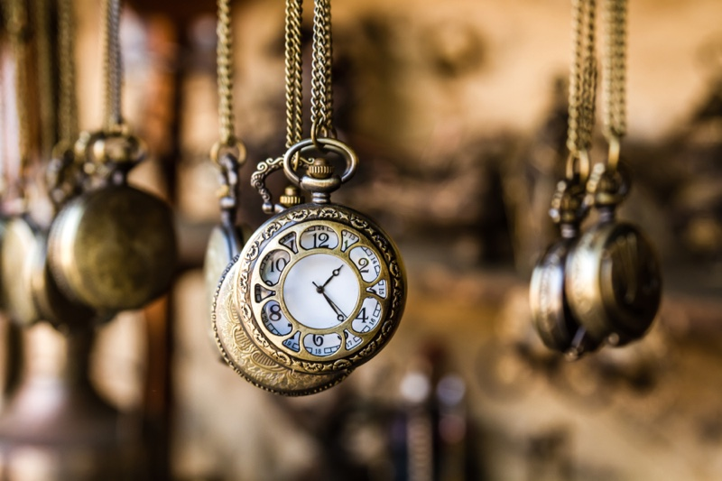 Antique Watches Hanging