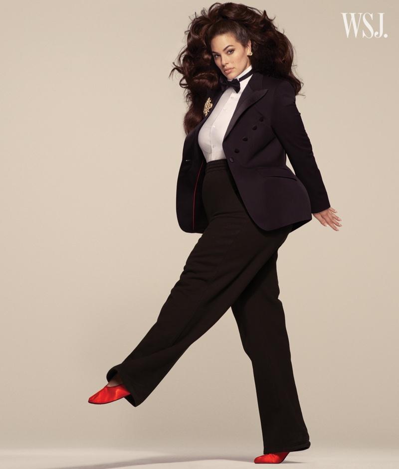 Ashley Graham Turns Up the Glam Factor for WSJ. Magazine