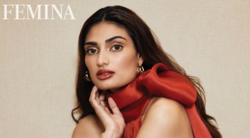 Athiya Shetty Poses in Rosy Styles for Femina India