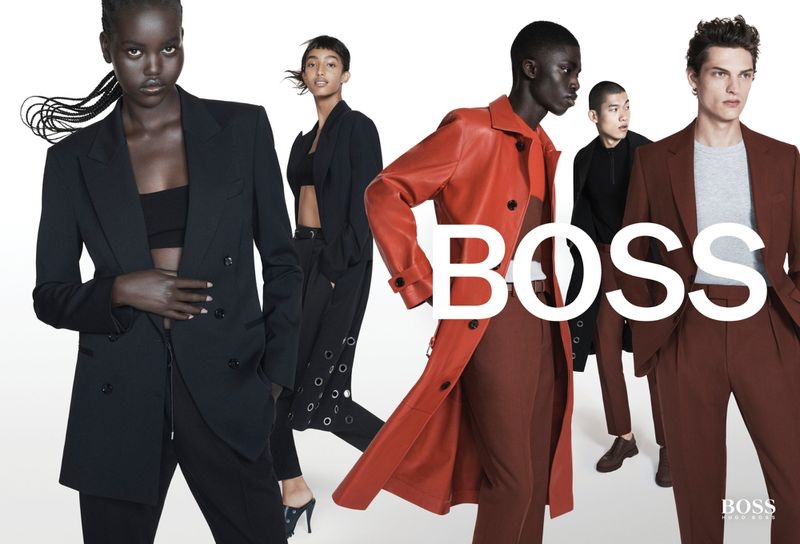 BOSS highlights suiting style for spring-summer 2021 campaign.