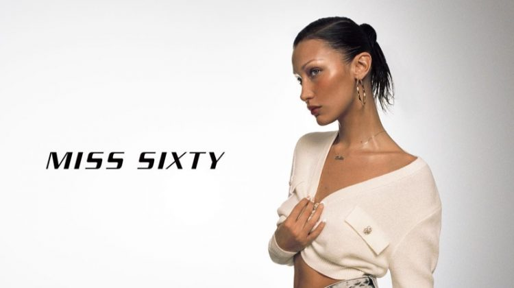 Bella Hadid stars in Miss Sixty spring-summer 2021 campaign.