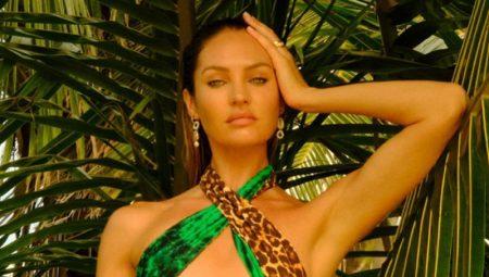 Candice Swanepoel Dives Into Tropic of C Praiana Swimwear