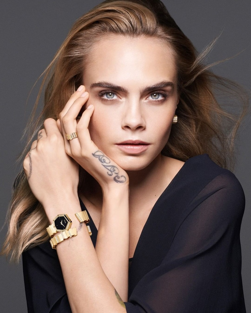 Dior unveils Gem Dior collection of bejeweled watches.