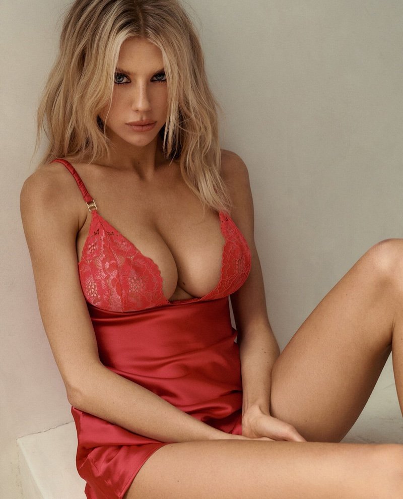 La Senza taps Charlotte McKinney for a lingerie campaign.
