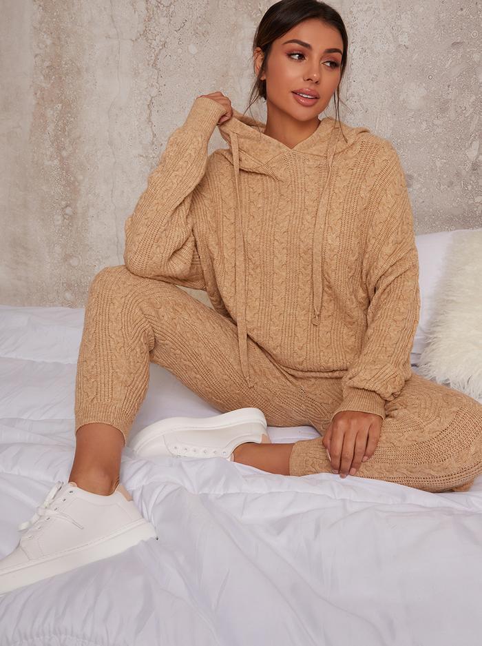 Chi Chi London Knitted Loungewear Set