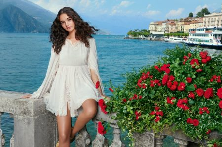 Dolce & Gabbana taps Deva Cassel as the face of its Dolce Rose perfume.