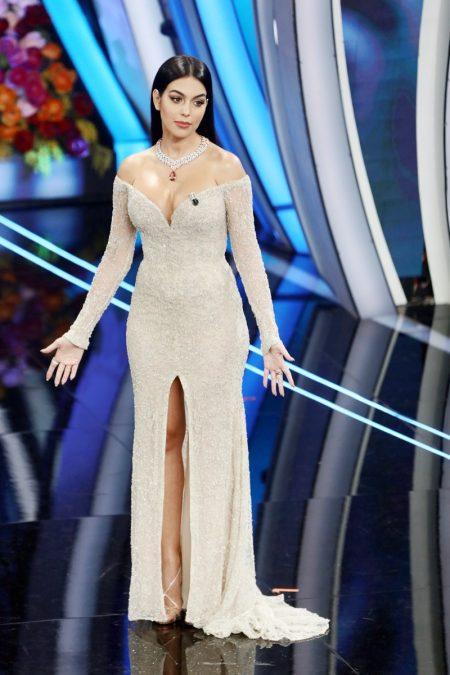 Georgina Rodriguez Sanremo Music Festival