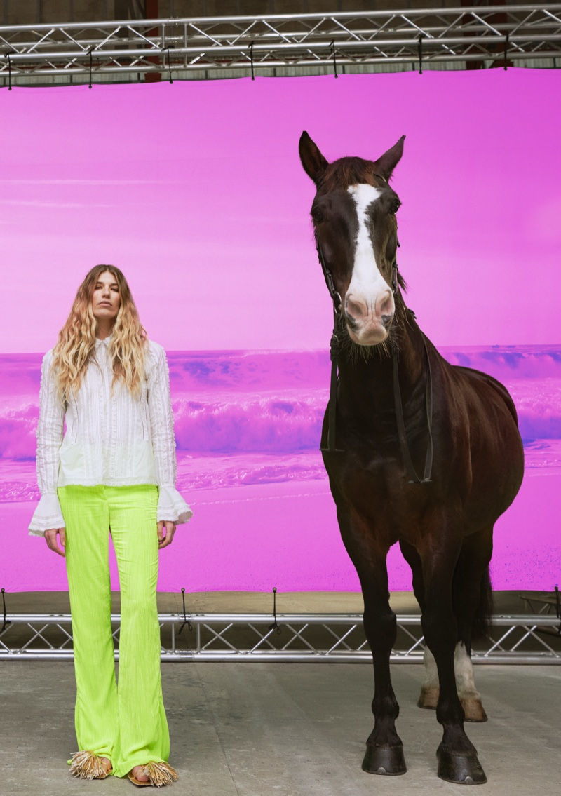 Fantasy meets whimsy for H&M Studio spring-summer 2021 campaign.