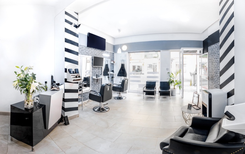 Interior Hair Salon Luxury