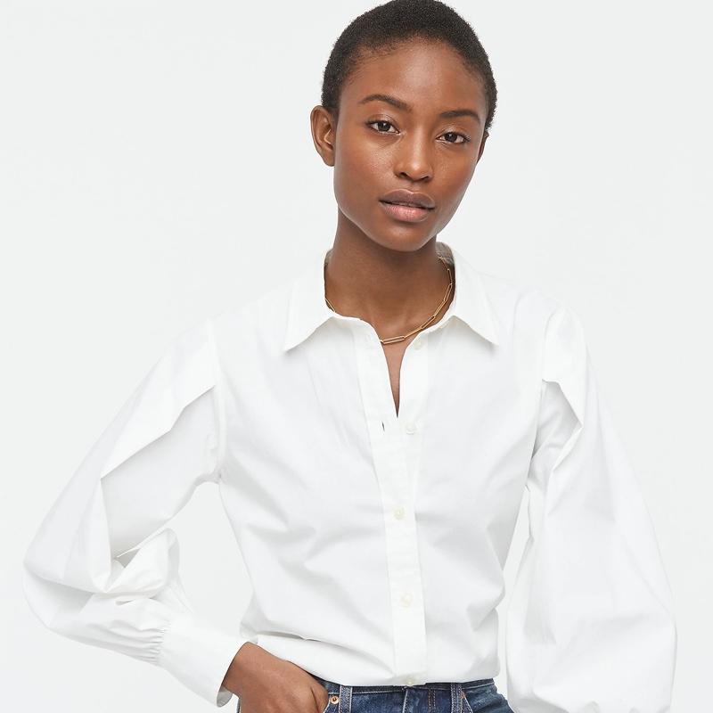 J. Crew Slim-Fit Puff-Sleeve Shirt $47.50