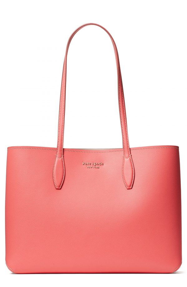 Kate Spade New York All Day Large Leather Tote - Pink