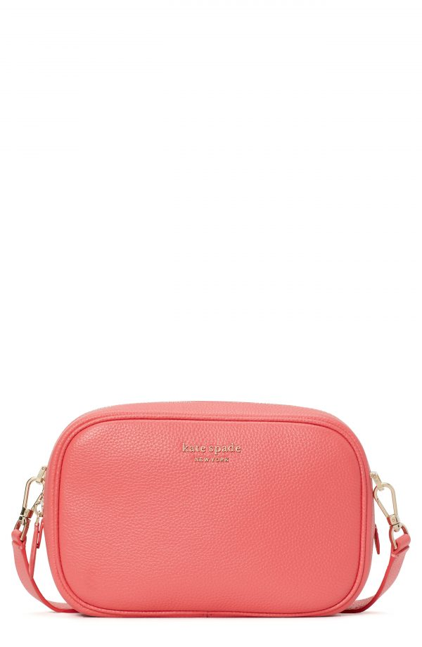 Kate Spade New York Astrid Medium Pebbled Leather Camera Bag - Pink