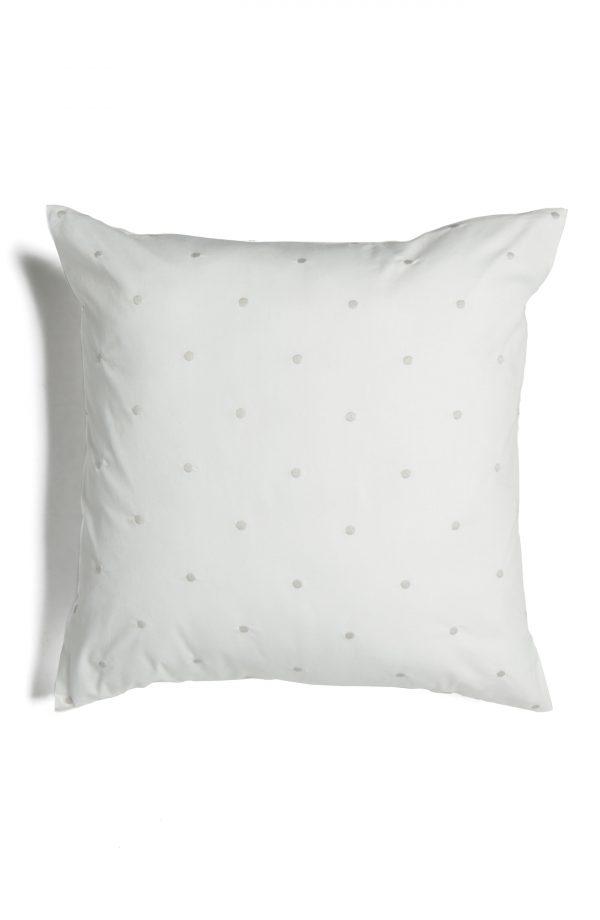 Kate Spade New York Binki Dot Accent Pillow, Size One Size - White