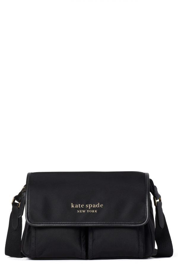 Kate Spade New York Daily Medium Messenger Bag - Black