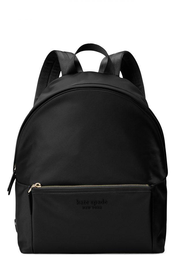 Kate Spade New York Large City Nylon Backpack - Black