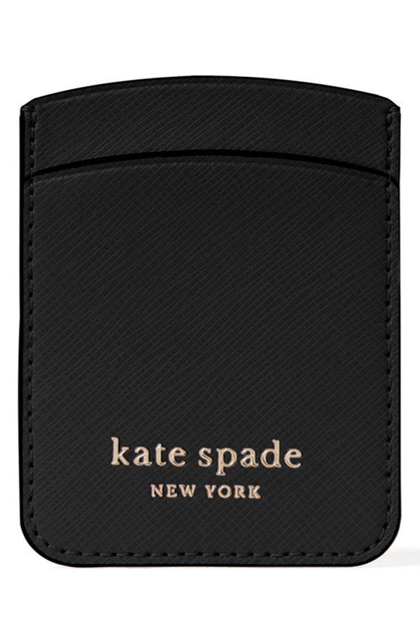 Kate Spade New York Spencer Double Sticker Phone Pocket - Black