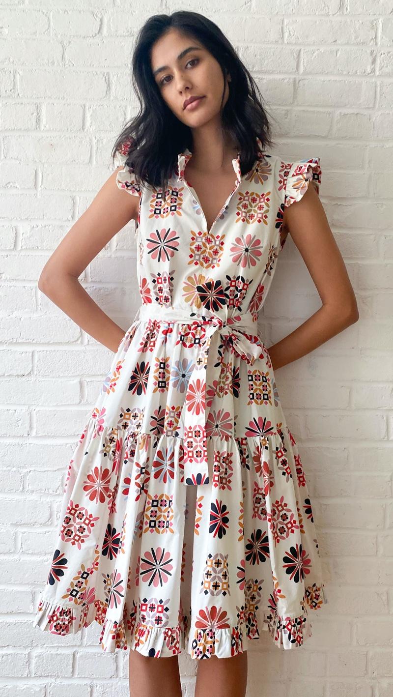 La Double J Short and Sassy Dress $605