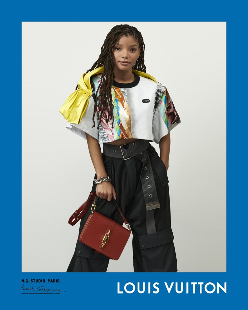 Halle Bailey stars in Louis Vuitton spring-summer 2021 campaign.