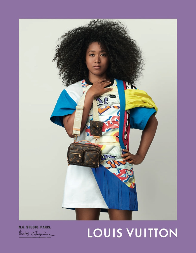 Naomi Osaka appears in Louis Vuitton spring-summer 2021 campaign.