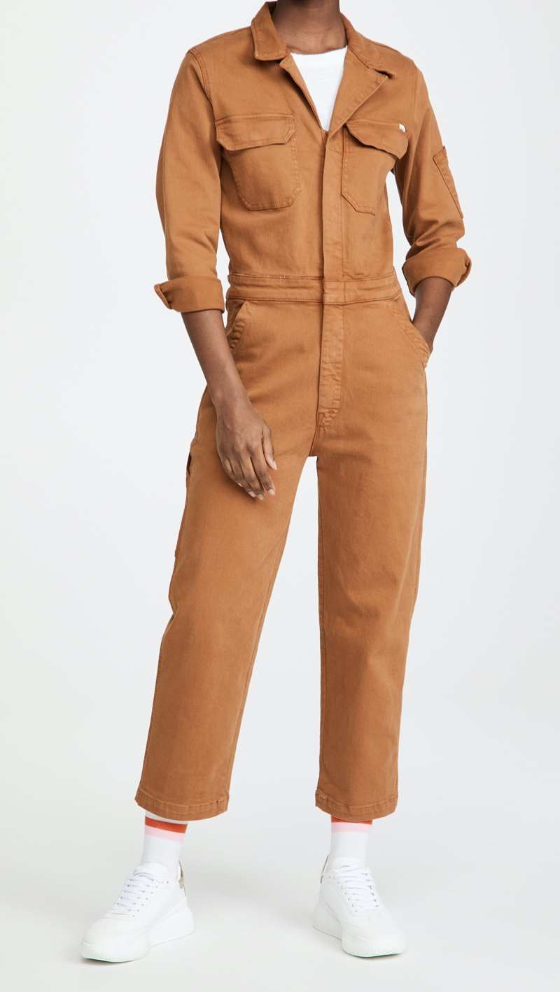 MOTHER The Fixer Jumpsuit $350