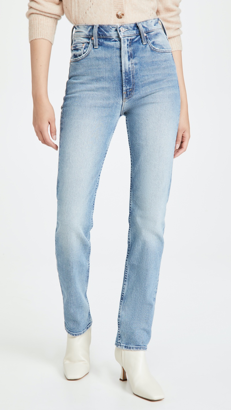 MOTHER Superior High Waisted Rider Skimp Jeans $268