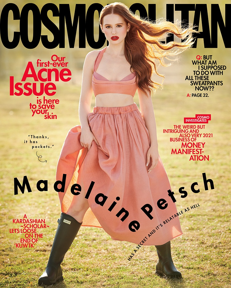 Madelaine Petsch for Cosmopolitan March 2021 Cover