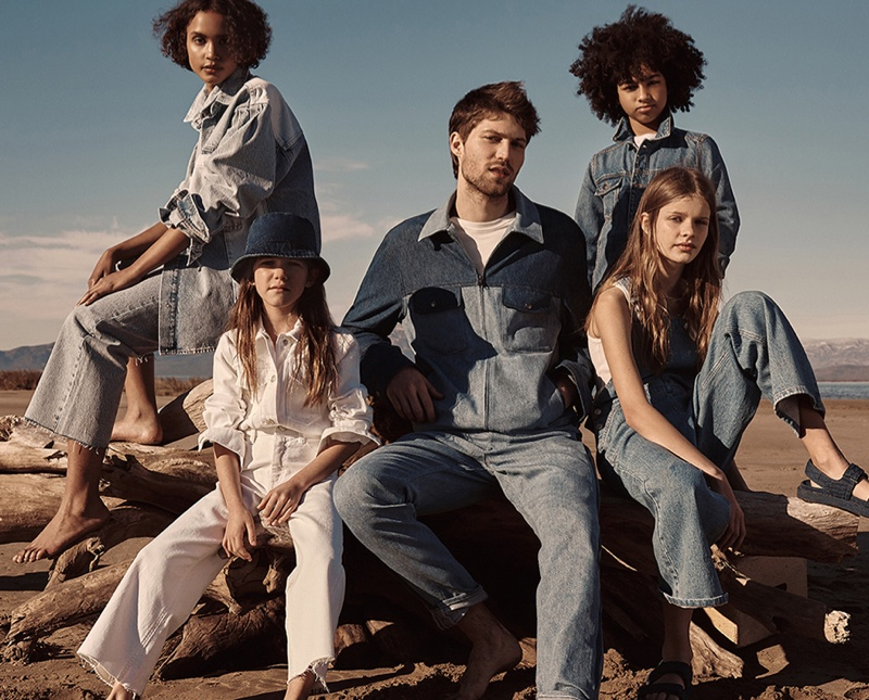 A sustainable denim collection from Mango saves 30 million liters of water.