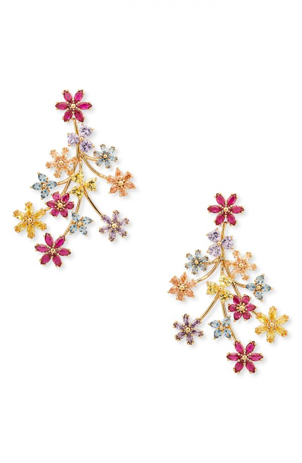 Men's Kate Spade New York First Bloom Floral Drop Earrings