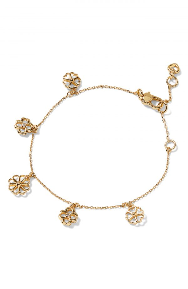Men's Kate Spade New York Floral Charm Bracelet