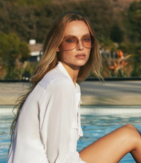 Oliver Peoples sets spring-summer 2021 campaign in Malibu, California.