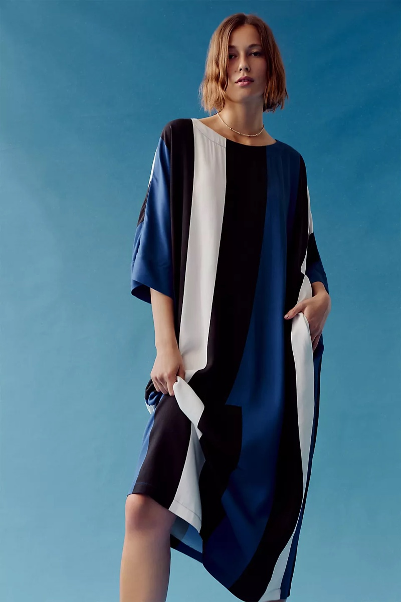 Peter Som for Anthropologie Calanthe Striped Maxi Dress $138