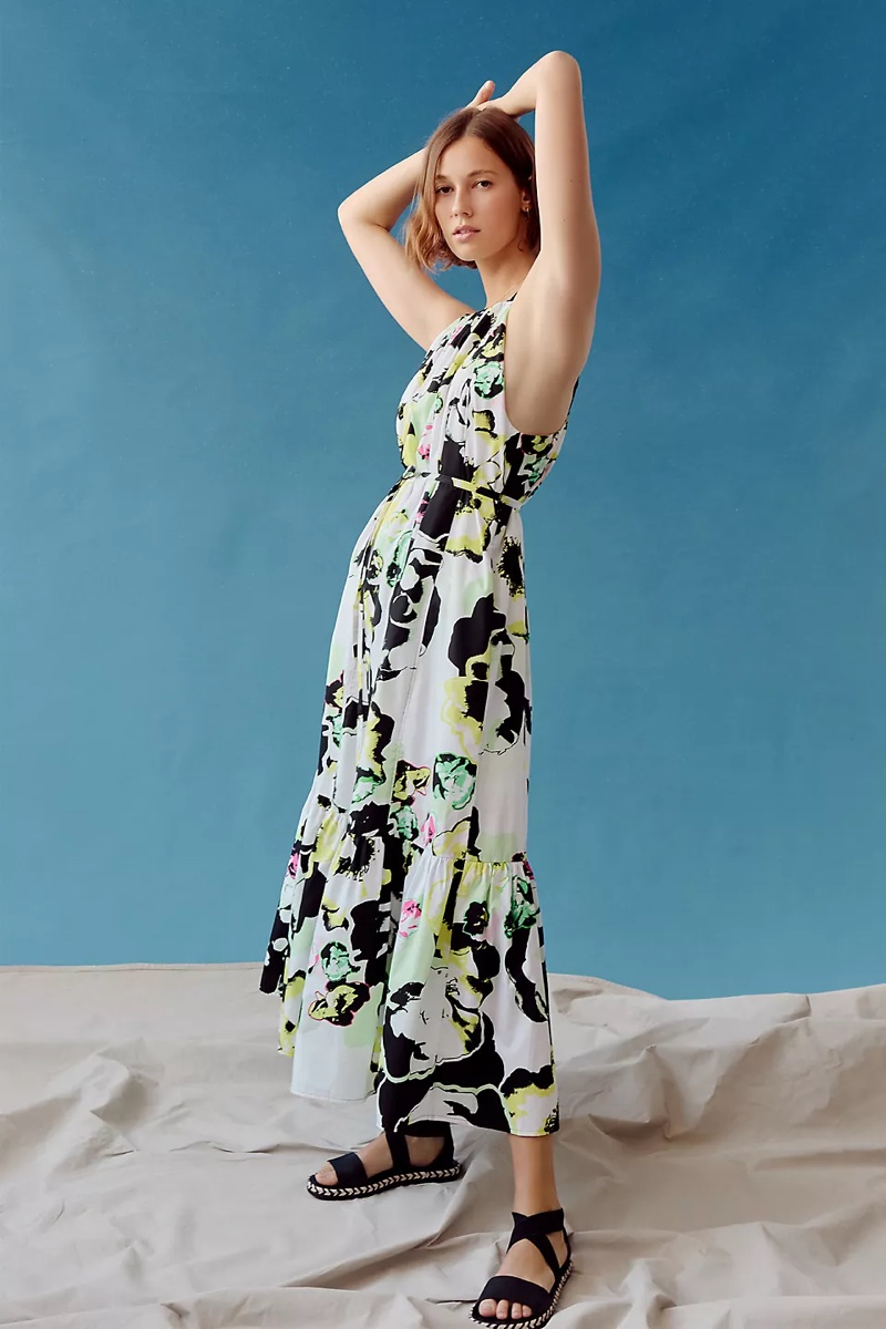Peter Som for Anthropologie Larissa Tiered Maxi Dress $198