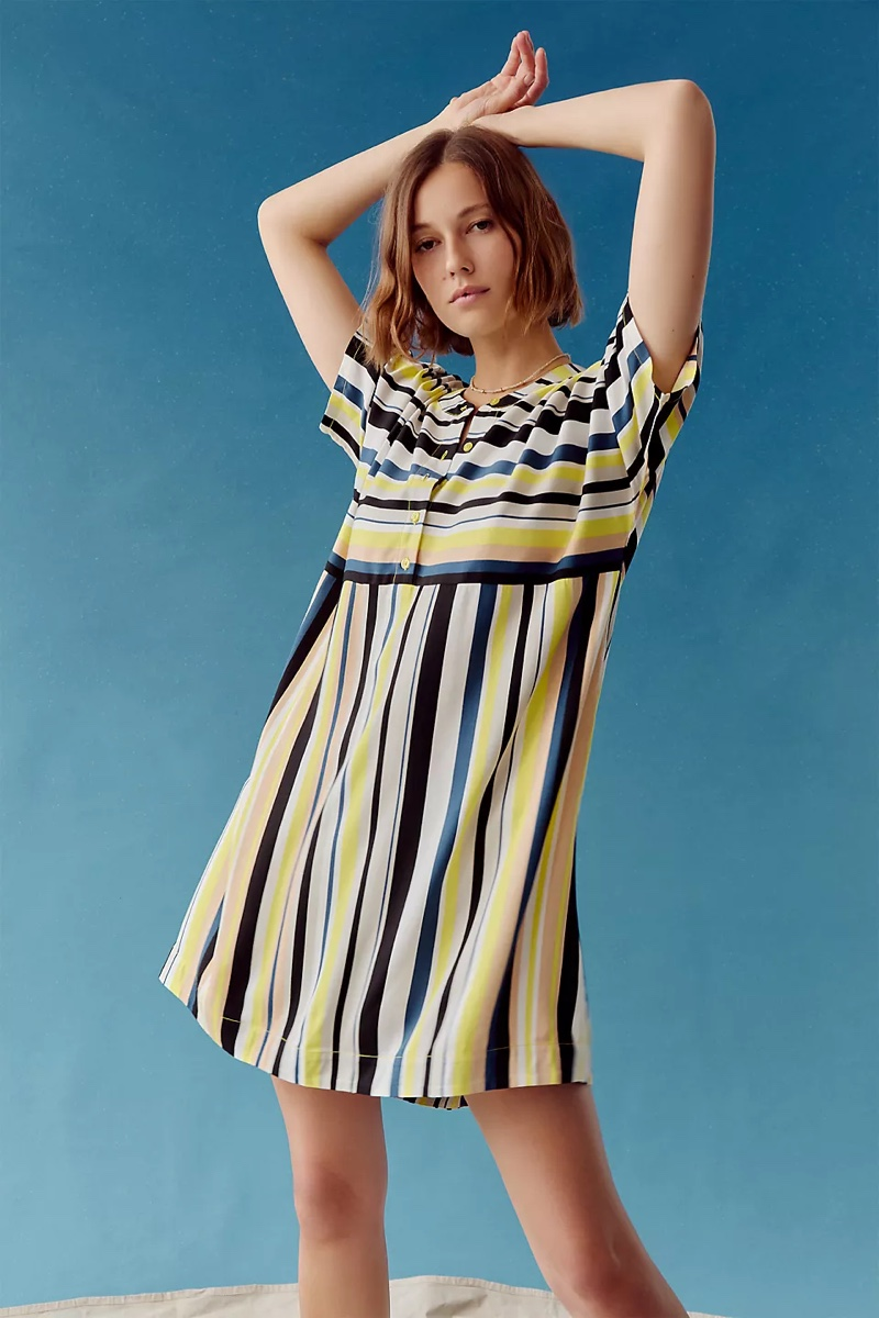 Peter Som for Anthropologie Naxos Striped Tunic Dress $148