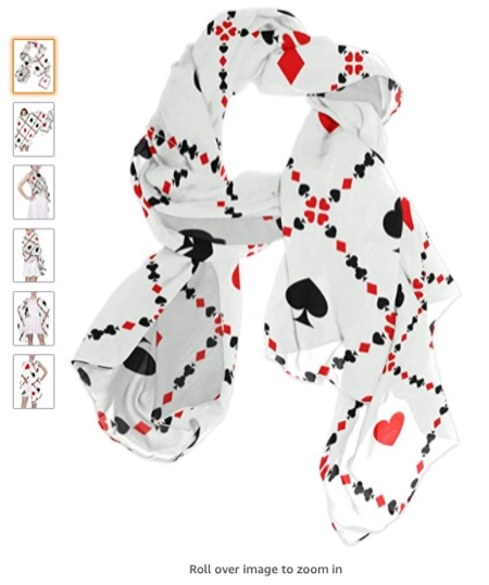 Playing Cards Scarf