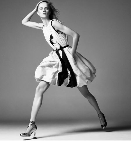 Rianne van Rompaey Wows in Black & White for Ports 1961 Spring 2021 Campaign