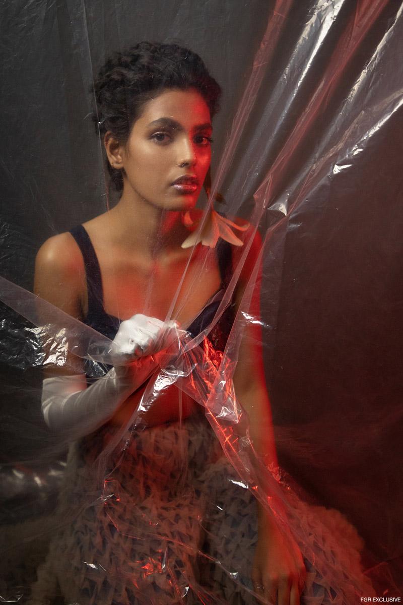 Bralette Zara and Pant Skirt Esha Sethi Thirani. Photo: Kay Sukumar