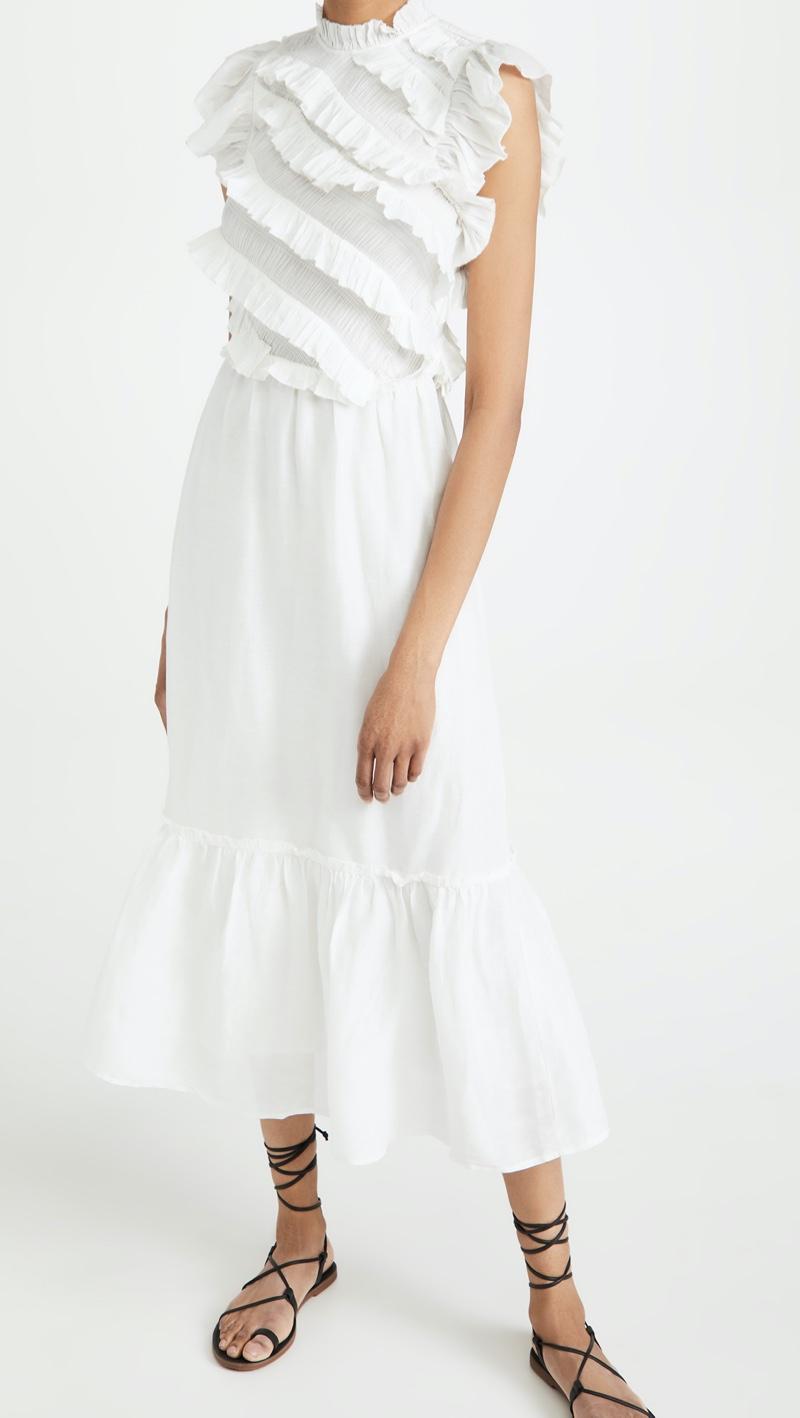 Sea Eleanor Tier Maxi Dress $495