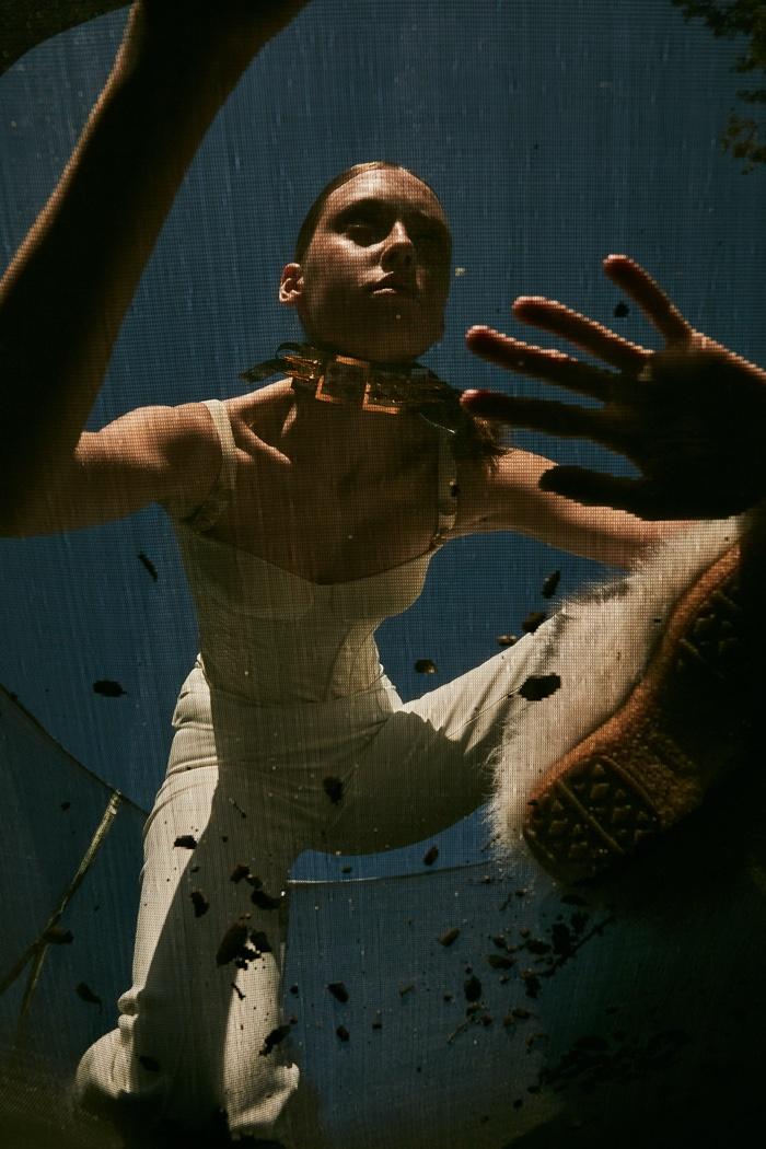 Sia Vlasova Poses in Bold Looks for Contributor Magazine