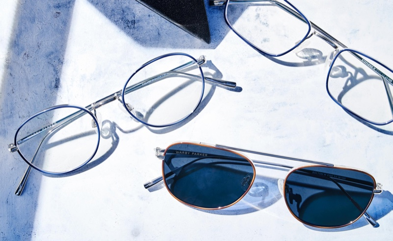 Warby Parker Eshi Edition glasses
