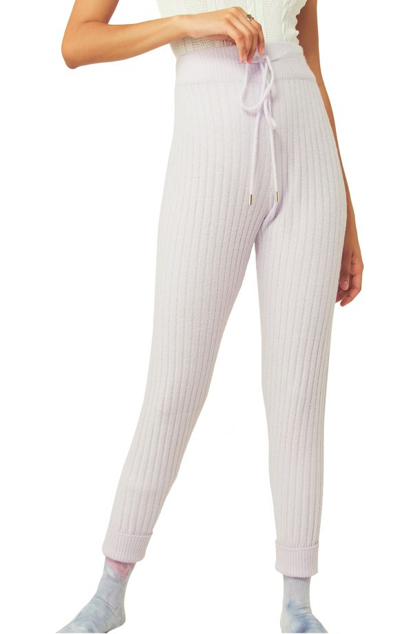 Women's Free People Around The Clock Joggers, Size X-Small - Purple
