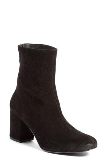 Women's Free People Cecile Block Heel Bootie, Size 6US - Black