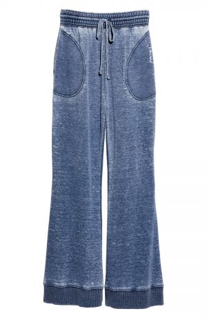 Women's Free People Cozy Cool Lounge Pants, Size X-Small - Blue
